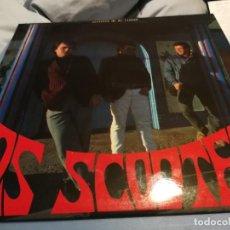 Discos de vinil: LOS SCOOTERS – SECRETOS DE MI CIUDAD LP AÑO 1988. Lote 219917356