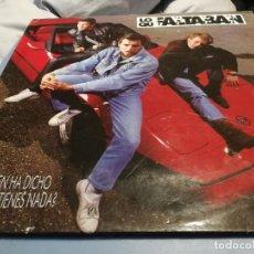 Discos de vinilo: LOS QUE FALTABAN, ¿QUIEN HA DICHO QUE NO TIENES NADA? LP 1991. Lote 219917490