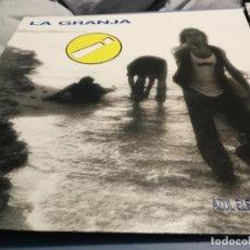 Discos de vinilo: LA GRANJA AZUL ELECTRICA EMOCION LP 1989 MOVIDA. Lote 219917690