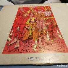 Discos de vinilo: GOLPES BAJOS – NO MIRES A LOS OJOS DE LA GENTE LP 1983 MOVIDA. Lote 219918192