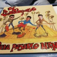 Discos de vinilo: 56 HAMBURGUESAS – PARA PASARLO BIEN LP 1991 DOBLE PORTADA MOVIDA. Lote 219918886
