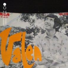 Discos de vinilo: DISCO SINGLE VALEN LA PASTORA BALADA POR UNA CIUDAD AÑO 1970 COLECCION. Lote 219961272