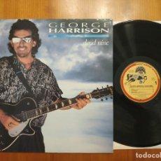 Discos de vinilo: BEATLES GEORGE HARRISON LP SPAIN CLOUD NINE 1ST EDITION. Lote 219963966