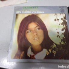 Discos de vinilo: JEANETTE - SOY REBELDE , OYE MAMA OYE PAPA. Lote 219968051