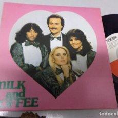 Discos de vinilo: MILK AND COFFE - TE QUIERO MAS QUE AYER , MARINA. Lote 219969937