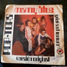 Disques de vinyle: POP TOPS - MAMY BLUE. Lote 219969967