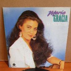 Discos de vinilo: MARÍA GRACIA / LUNA ROTA / SINGLE - FONOMUSIC-1991 / MBC. ***/***. Lote 219976328