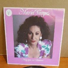 Discos de vinilo: MARÍA VARGAS / HAY QUE VER SANLUCAR / SINGLE-PROMO - VIRGIN-1991 / IMPECABLE. ****/****. Lote 219977287