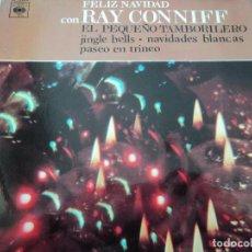 Discos de vinilo: FELIZ NAVIDAD CON RAY CONNIFF CORTYDIX. Lote 219978122