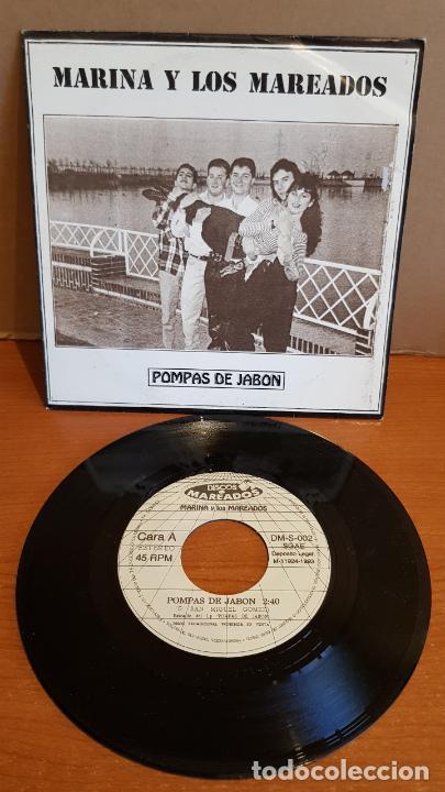 MARINA Y LOS MAREADOS / POMPAS DE JABÓN / SINGLE-PROMO - 1993 / IMPECABLE. ****/**** (Música - Discos - Singles Vinilo - Grupos Españoles de los 90 a la actualidad)