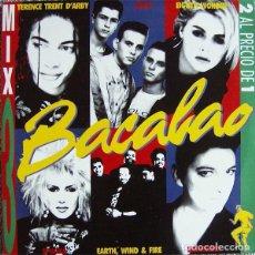 Discos de vinilo: BACALAO MIX VOLUMEN 3 MEGAMIXES - 2 × LP COMPILATION SPAIN 1988. Lote 219983353