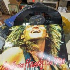 Discos de vinilo: BON JOVI MAXI LAY YOUR HANDS ON ME U.S.A. 1989. Lote 219988061