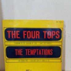 Disques de vinyle: EP ** THE FOUR TOPS / THE TEMPTATIONS ** COVER/ NEAR MINT ** EP/ NEAR MINT ** 1967. Lote 220009558