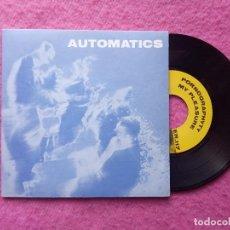 Discos de vinilo: EP AUTOMATICS - PORNOGRAPHYTY / MY PLEASURE / I WANT RAIN / TOMMY T - ER 117 - GATEFOLD (NM/NM). Lote 220062556