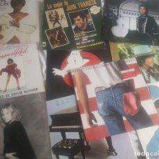 Discos de vinilo: VINILIO VARIADOS AÑOS 80 CANTANTES COMO BOD DILAN MICHAEL JACKSON ELTON JOHN Y MAS. Lote 220066420