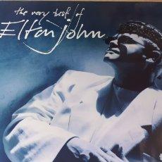 Discos de vinilo: ELTON JOHN THE VERY BEST OF ELTON JOHN DOBLE LP. Lote 220067797