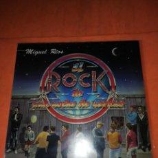 Discos de vinilo: MIGUEL RIOS . EL ROCK DE UNA NOCHE DE VERANO. POLYDOR 1983. Lote 220068646