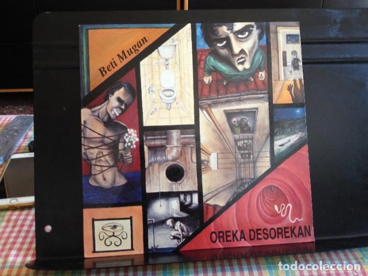 BETI MUGAN - OREKA DESOREKAN (ROCK, PUNK ROCK) / ALBUM VINYL LP MADE IN SPAIN1991 NM - M (Música - Discos - LP Vinilo - Punk - Hard Core)