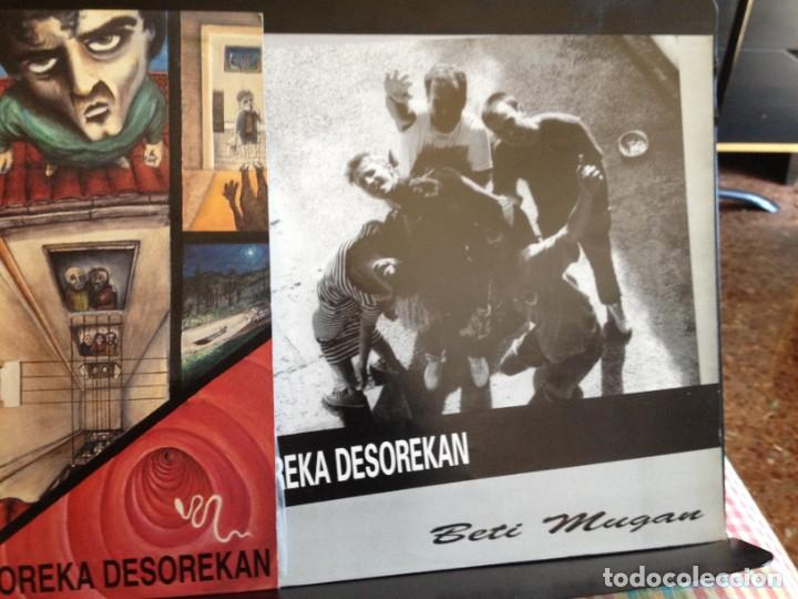 Discos de vinilo: BETI MUGAN - OREKA DESOREKAN (ROCK, PUNK ROCK) / ALBUM VINYL LP MADE IN SPAIN1991 NM - M - Foto 2 - 220074366