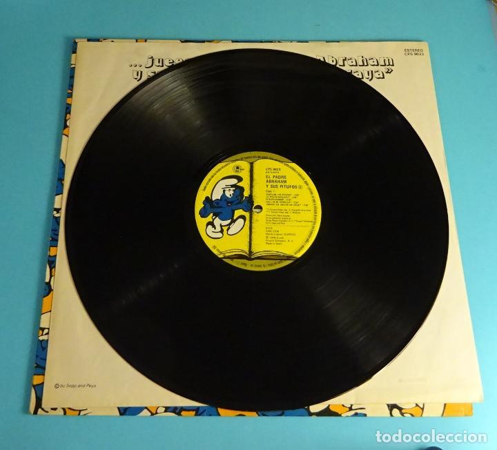 Discos de vinilo: PADRE ABRAHAM Y SUS PITUFOS (LP) 1979, INCLUYE ENCARTE CON LETRAS - Foto 4 - 220075290