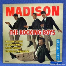 Disques de vinyle: EP MADISON - THE ROCKING BOYS - ESPAÑA - 1982. Lote 220083530