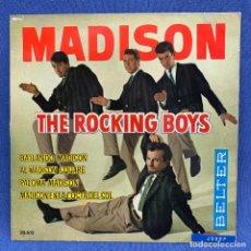 Dischi in vinile: EP MADISON - THE ROCKING BOYS - ESPAÑA - 1982. Lote 220083530