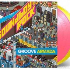 Discos de vinilo: GROOVE ARMADA - SOUNDBOY ROCK VINILO ROSA Y AMARILLO 180G 2LP EDICIÓN LIMITADA PRECINTADO. Lote 220090550