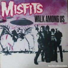 Discos de vinilo: MISFITS – WALK AMONG US - LP REEDICION (NUEVO). Lote 220096667