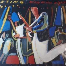Discos de vinilo: STING BRING ON THE NIGHT DOBLE LP. Lote 220097818