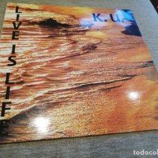 Discos de vinilo: K. U. - LIVE IS LIFE. MAXI. Lote 220100457