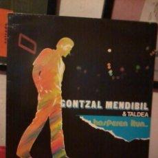 Disques de vinyle: GONTZAL MENDIBIL & TALDEA HASPEREN ITUN COMO NUEVO. Lote 220100560