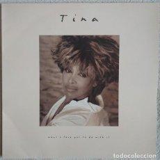Disques de vinyle: TINA TURNER WHAT;LOVE GOT. Lote 220101170