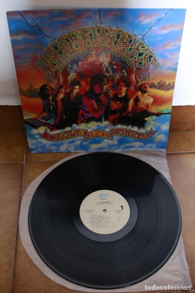 NOISEWORKS - LOVE VERSUS MONEY - 1991 - USA - VG/VG (Música - Discos - LP Vinilo - Pop - Rock Internacional de los 90 a la actualidad)