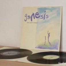 Discos de vinilo: GENESIS - WE CAN´T DANCE 2 LP - 1991 - ESPAÑA - VG++/VG++. Lote 220101641