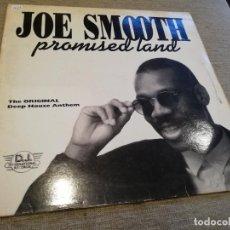Discos de vinilo: JOE SMOOTH-PROMISED LAND. MAXI. Lote 220102711
