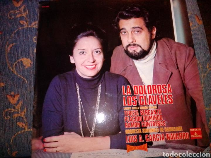 LA DOLOROSA LOS CLAVELES ALHAMBRA (Música - Discos - LP Vinilo - Clásica, Ópera, Zarzuela y Marchas)