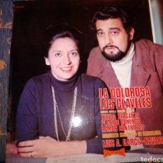 Discos de vinilo: LA DOLOROSA LOS CLAVELES ALHAMBRA. Lote 220102797