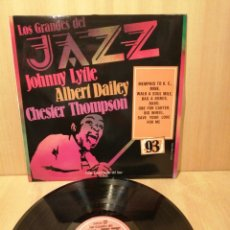 Disques de vinyle: JOHNNY LYTLE. ALBERT DAILEY. CHESTER THOMPSON. GRANDES JAZZ N 93.. Lote 220103515