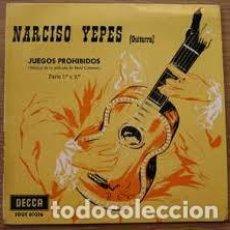 Discos de vinilo: NARCISO YEPES. JUEGOS PROHIBIDOS ÀRTE 1ª Y 2ª. Lote 220104668