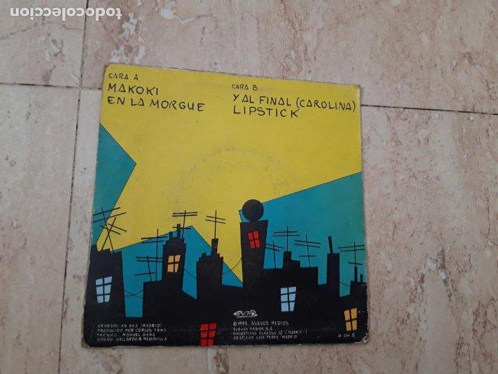 Discos de vinilo: PARAISO EP NUEVOS MEDIOS 1983 makoki/ en la morgue/ y al final (carolina)/ lipstick - Foto 2 - 220107976