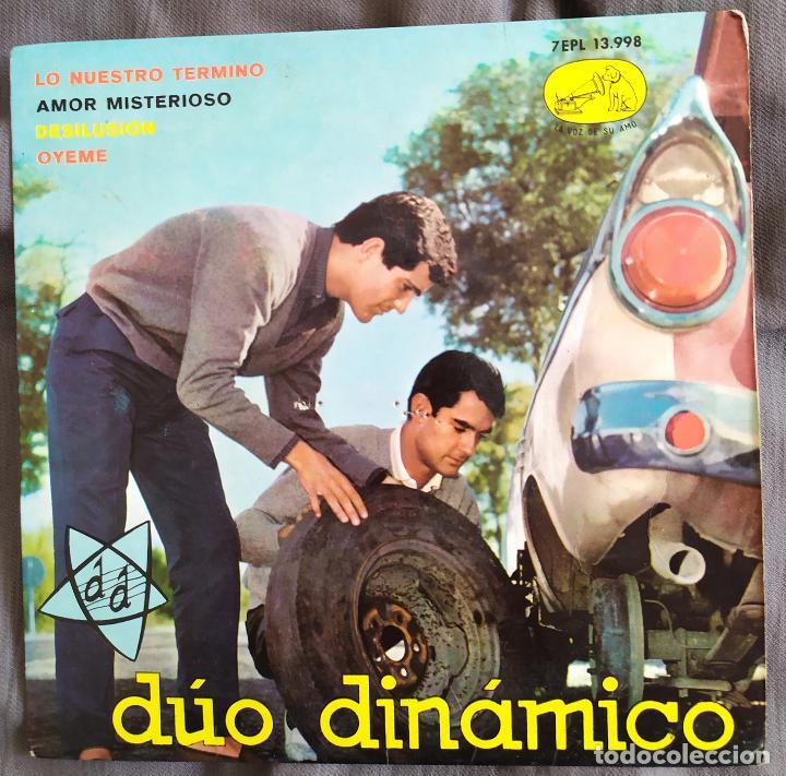 DÚO DINÁMICO - LO NUESTRO TERMINÓ. EP 1963 (Música - Discos de Vinilo - EPs - Solistas Españoles de los 50 y 60)