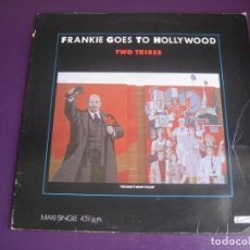 Disques de vinyle: FRANKIE GOES TO HOLLYWOOD - TWO TRIBES (ANNIHILATION) - MAXI SINGLE ISLAND 1984 - SYNTH POP DISCO 80. Lote 220113163