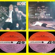 Discos de vinilo: AC / DC, IF YOU WANT BLOOD 79 RARE 1º PRESS SPAIN ATLANTIC S 90.123 TRICOLOR TODO EX !!!!!!!!. Lote 220118481
