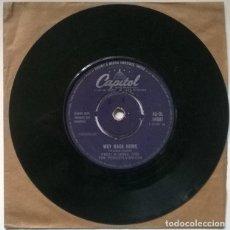 Discos de vinilo: FRED WARING & THE PENNSYLVANIANS. DRY BONES/ WAY BACK HOME. CAPITOL, UK 1957 SINGLE. Lote 220122280