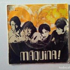 Discos de vinilo: SINGLE MÁQUINA. LANDS OF PERFECTION/LETS GET SMASHED. Lote 220127001