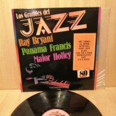 Disques de vinyle: RAY BRYANT. PANAMA FRANCIS. MAJOR HOLLEY. GRANDES JAZZ N 89.. Lote 220136525