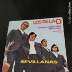 Discos de vinilo: LOS DE LA O SEVILLANAS, PARA LAS MADRESM AMOR TRIANERO SOLO CARATULA. Lote 220137725