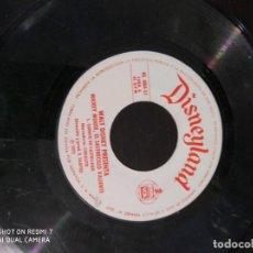 Discos de vinilo: DISCO DISMEYLAND MICKEY MOUSE, EL SASTRECILLO VALIENTE. Lote 220141151
