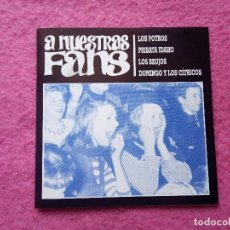 Discos de vinilo: EP A NUESTRAS FANS - LOS POTROS / LOS BRUJOS +2 - G&C 016 - EP (NM/NM) GATEFOLD BOOKLET. Lote 220142031