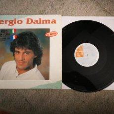 Discos de vinilo: SERGIO DALMA BALLARE STRETTI / DANSER CONTRE TOI ITALIANO FRANCES MAXI SINGLE VINILO EUROVISION 1991. Lote 220168805